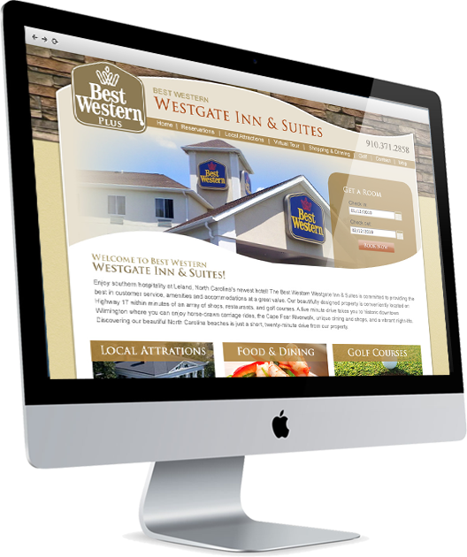 Hotel Web Designers in Wilmington, NC