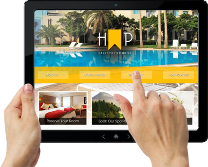 Custom Web Design For Your Resort